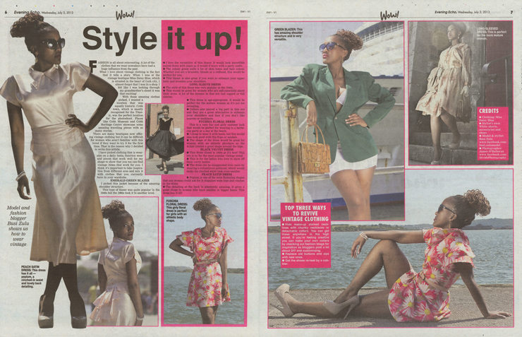 Evening Echo – Style It Up