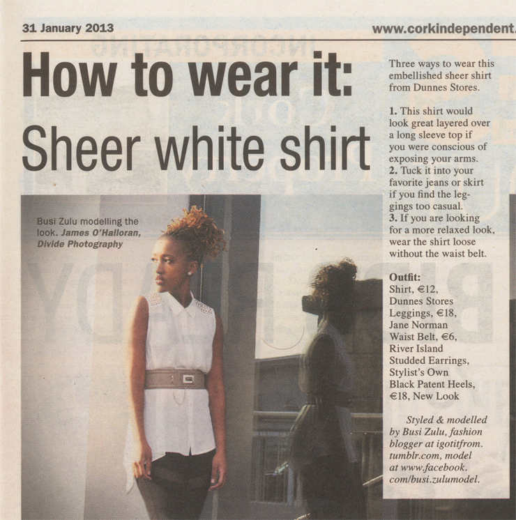 Cork Independent – How to wear it
