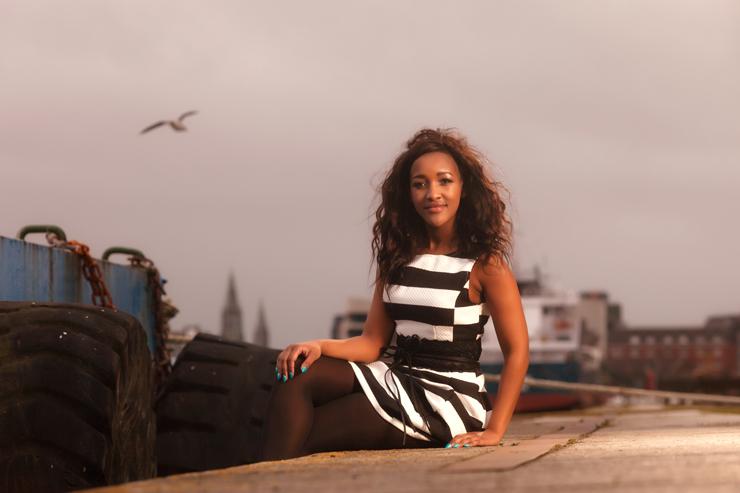Clothing: Swamp Fashion, Model: Busi Zulu, MUA: Makeup Your Mind