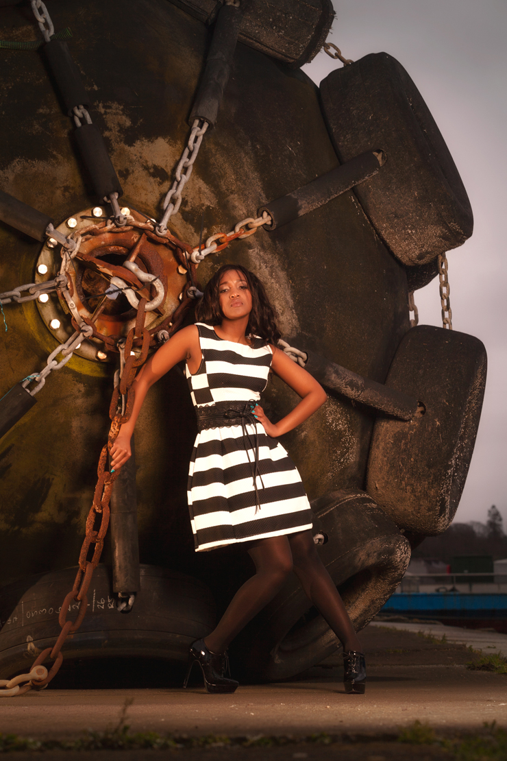 Clothing: Swamp Fashion, Model: Busi Zulu, MUA: Makeup Your Mind