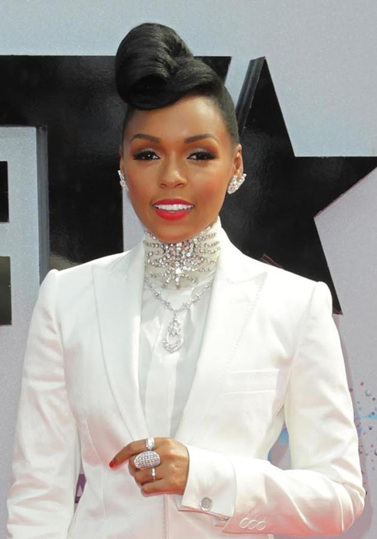 The 2013 BET Awards held at Nokia Theatre - Arrivals Featuring: Janelle Monae Where: Los Angeles, California, United States When: 30 Jun 2013 Credit: FayesVision/WENN.com